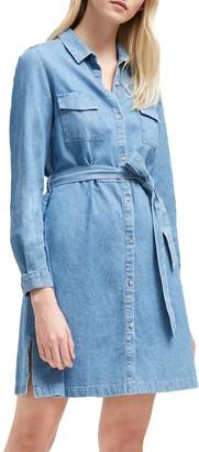 French Connection Shirt Dress, Bleach Blue