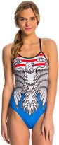 Triflare Women's Stars and Stripes One Piece Swimsuit 8143870
