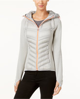 MICHAEL Michael Kors Knit-Sleeve Active Puffer Coat