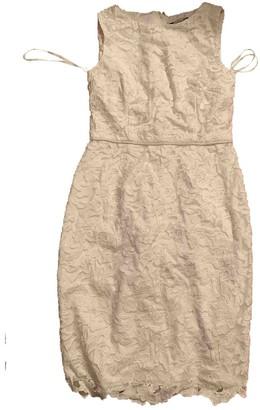 Karl Lagerfeld Paris White Lace Dresses