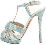 Nicholas Kirkwood Glitter Platform Sandals
