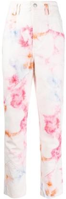 Isabel Marant Eloise tie-dye jeans
