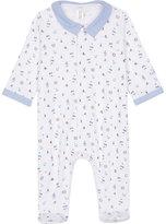 Petit Bateau Sailor cotton baby-grow newborn - 6 months