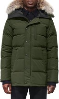 Canada Goose 'Carson' Slim Fit Hooded Parka with Genuine Coyote Fur Trim