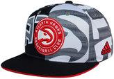 adidas Atlanta Hawks All Team Screen Print Snapback Cap