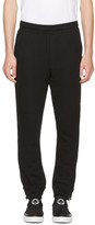 McQ Black Zip Lounge Pants