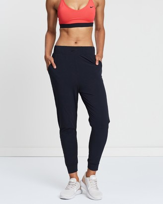 Nike Women's Black Tapered pants - Bliss Lux Training Pants - Size XS at The Iconic