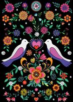 Matthew Williamson Pack of 6 Gypsy Love Greeting Cards