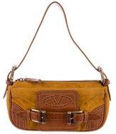 Valentino Leather & Suede Shoulder Bag