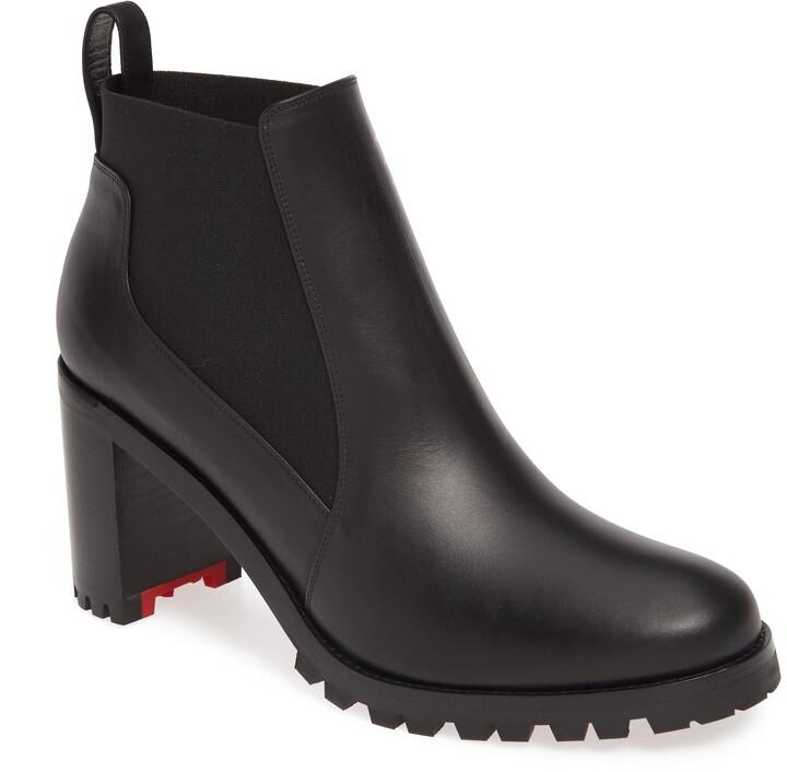825cba5ae0672 Christian Louboutin Lug Sole Women's Boots - ShopStyle