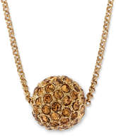 JCPenney MONET JEWELRY Monet Gold-Tone Fireball Pendant Necklace