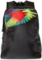 Marcelo Burlon County of Milan Wings Print Nylon Backpack