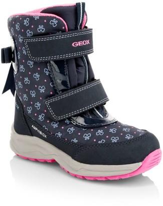 Geox Little Girl's Kuray Waterproof Grip-Tape Boots