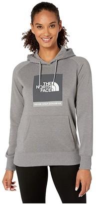 The North Face Brand Proud Pullover Hoodie (TNF Medium Grey Heather) Women's Sweatshirt