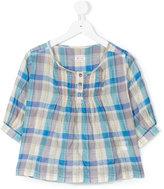 Morley Bombay-Madras blouse - kids - Cotton/Polyurethane - 2 yrs