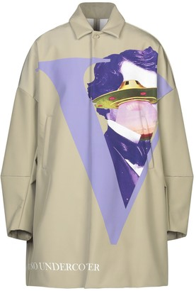 Valentino with UNDERCOVER Overcoats