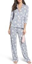 PJ Salvage Women's Playful Print Pajamas & Eye Mask