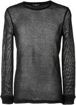 Balmain sheer sweater