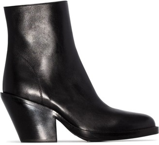 Ann Demeulemeester 80mm ankle boots