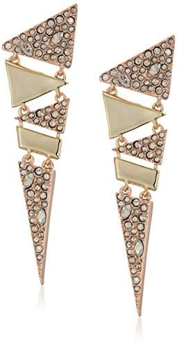 Alexis Bittar Articulated Triangle Post Earrings