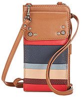 The Sak Sanibel Striped Phone Wallet
