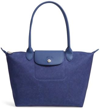Longchamp Le Pliage Jeans Shoulder Tote Bag