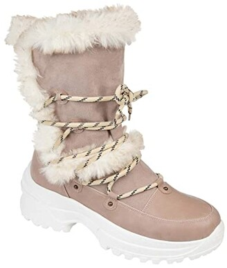 Journee Collection Polar Fashion Winter Boot (Grey) Women's Shoes