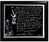 "Steiner Sports New York Knicks Walt Frazier The Willis Reed Game Facsimile 22"" x 26"" Framed Stretched Story Canvas"