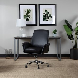 Sookdeo Task Chair Latitude Run Upholstery Color: Black