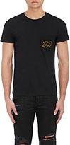 En Noir Men's Embroidered Cotton-Cashmere T-Shirt