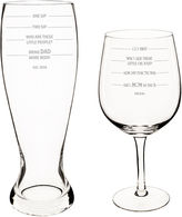 Cathy's Concepts CATHYS CONCEPTS 2-pc. Xl Beer and Wine Glass Set