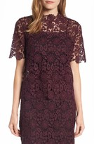 Women's Halogen Sheer Lace Top
