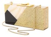 Halston Rectangular Box Minaudiere