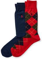 Polo Ralph Lauren Argyle Trouser Sock 2-Pack