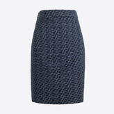 J.Crew Factory Jacquard pencil skirt