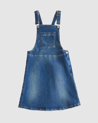 Gelati Jeans Veronica Mid Wash Pinafore