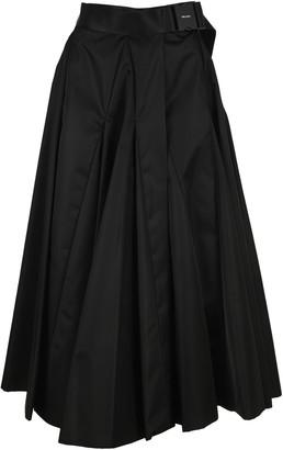 Prada Re-nylon Gabardine Full Skirt