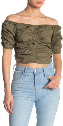 Cotton On Miranda Ruche Shirt