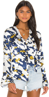 Blue Life Katy Scarf Blouse