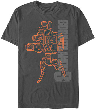 Fifth Sun Tee Shirts CHARCOAL - Borderlands Charcoal 'Borderlands 3' Guns With Legs Tee - Adult