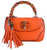 Gucci New Medium Bamboo Top Handle Bag
