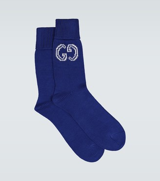 Gucci GG cotton knitted socks