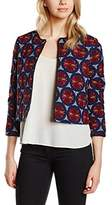 Les Petites Women's Blouse Long Sleeve Blazer - Multicoloured -