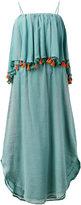 Carolina K. tassel deep frill dress - women - Cotton - XS