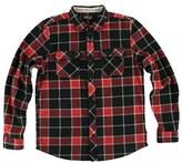 O'Neill Boy's Glacier Plaid Flannel Shirt
