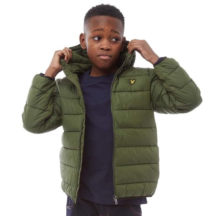 58cc311f1 Junior Boys Puffer Jacket Woodland Green