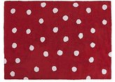 Lorena Canals Topos Washable Rug (Red) by Lorena Canals