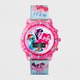 My Little Pony Girls' Flashing LCD Watch