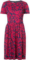 Oscar de la Renta peplum midi dress - women - Cotton/Spandex/Elastane - 4