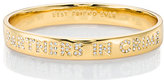 Kate Spade Partners in crime idiom bangle